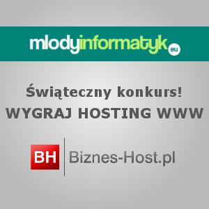 Świąteczny Konkurs #1 – Wygraj hosting www [Pakiet START] od Biznes-Host.pl